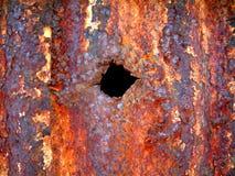 Agujero de punto negro Foto de archivo libre de regalías