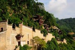 Agujero de Qinglong Imagenes de archivo