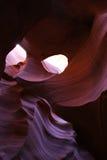 Agujero del barranco del antílope Imagen de archivo libre de regalías