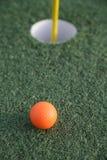 Agujero del golf Foto de archivo libre de regalías