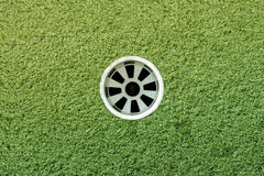 Agujero del golf Imagen de archivo