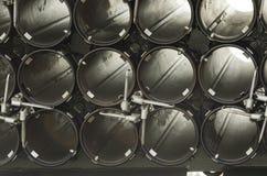 Agujero del metal Imagen de archivo libre de regalías