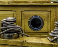 Agujero del puerto Imagen de archivo libre de regalías