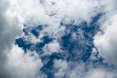Agujero en cielo imagen de archivo