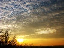 Agujero en el cielo Imágenes de archivo libres de regalías