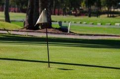 Agujero en golf Imágenes de archivo libres de regalías