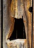 Agujero en la pared Imagen de archivo