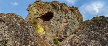 Agujero en la roca Imagen de archivo