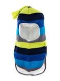 Agujero Ski Mask del casco uno del sombrero de los niños Imagenes de archivo