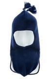 Agujero Ski Mask del casco uno del sombrero de los niños Foto de archivo libre de regalías
