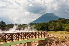 Agujeros de ebullición del fango - San Jacinto Imagen de archivo libre de regalías
