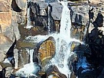 agujeros de la cascada Fotografía de archivo