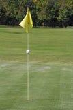 Agujeros del golf Imagen de archivo