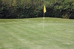 Agujeros del golf Foto de archivo