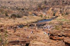 Agujeros en la suerte de Bourkes, Suráfrica Fotos de archivo libres de regalías