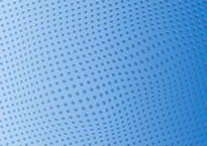 Agujeros perforados del fondo azul abstracto Vector ilustración del vector