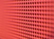 Agujeros rojos Imágenes de archivo libres de regalías