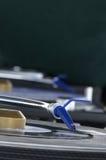 Agulha azul Imagem de Stock Royalty Free
