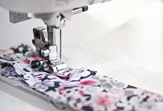 Agulha da máquina de costura Imagem de Stock