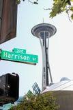 Agulha do espaço de Seattle foto de stock royalty free