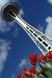 Agulha do espaço de Seattle Imagens de Stock