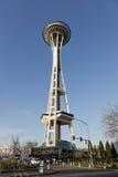 Agulha do espaço de Seattle Fotos de Stock Royalty Free