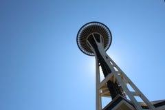 Agulha do espaço de Seattle Fotos de Stock
