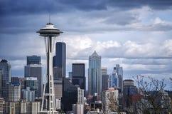 Agulha do espaço de Seattle Imagem de Stock Royalty Free