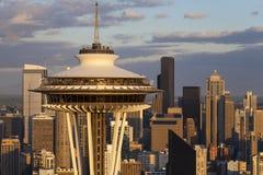 A agulha do espaço, Seattle, Washington, EUA Fotografia de Stock