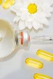 Agulha Hypodermic e drogas imagens de stock royalty free