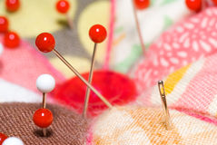 Agulha Sewing Foto de Stock