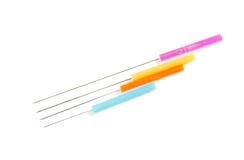 Agulhas da acupuntura Imagens de Stock