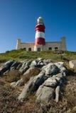 agulhas przylądka latarnia morska Zdjęcie Stock
