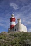 agulhas przylądka latarnia morska Obraz Royalty Free