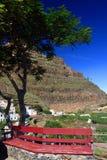 Agulo и вулкан El Teide Стоковое Изображение RF