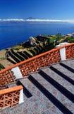 Agulo i El Teide wulkan Zdjęcia Royalty Free
