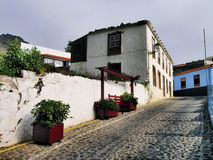 Agulo on La Gomera Royalty Free Stock Images