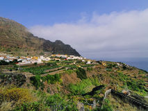 Agulo on La Gomera Stock Photography