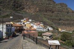 Agulo, los angeles Gomera, wyspa kanaryjska Hiszpania Fotografia Stock
