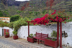 Agulo town Royalty Free Stock Image