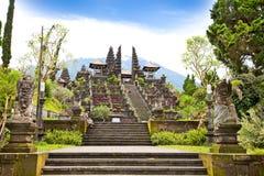 agung Bali besakih powikłana Indonesia świątynia obrazy stock