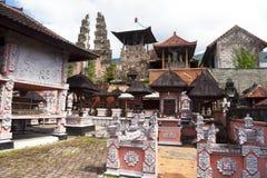 agung Bali Indonesia pasar pura Zdjęcia Stock