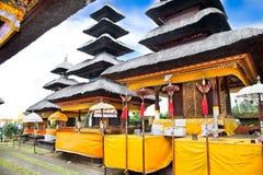 Agung Besakih temple on Bali Stock Image