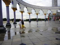 Agung mosque Stock Photos