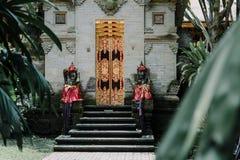 agung puri saren Świątynia w Bali, Indonezja Obrazy Stock
