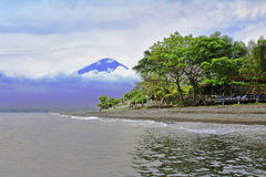 Agung volcano Royalty Free Stock Photography