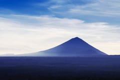 Agung volcano Stock Photo