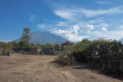 Agung Volcano Royalty Free Stock Image