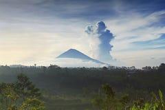 agung wulkan Zdjęcie Royalty Free