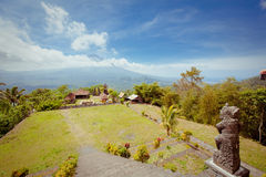 Agung wulkan, Bali, Indonezja. Obraz Royalty Free